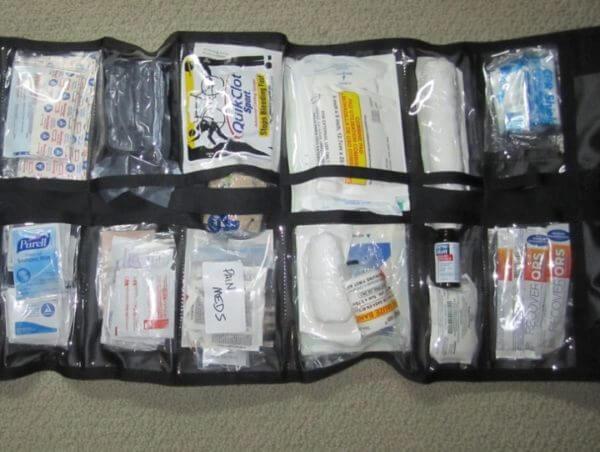 Правильная укладка медикаментов при транспортировке