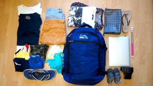 Пример того, что может поместиться в рюкзаке