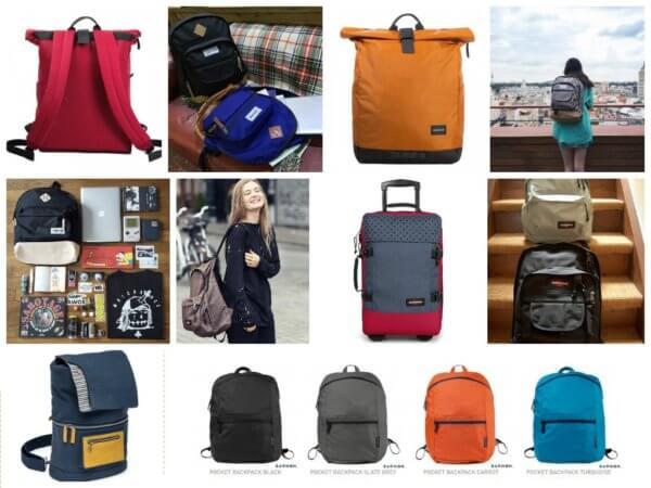 Варианты женских рюкзаков